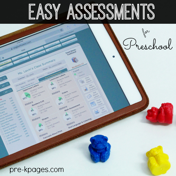 Easy Assessment Tool for Preschool and Kindergarten