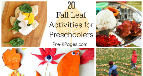 20 Fall Leaf Activities for Preschool