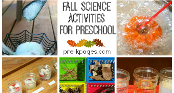 Fall Science Activities for Preschool