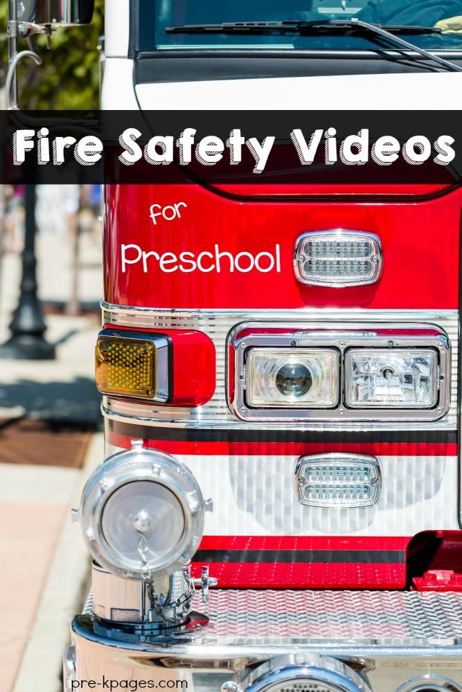 Fire Safety Videos for Preschool and Kindergarten