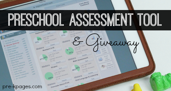 Online Preschool Assessment Tool