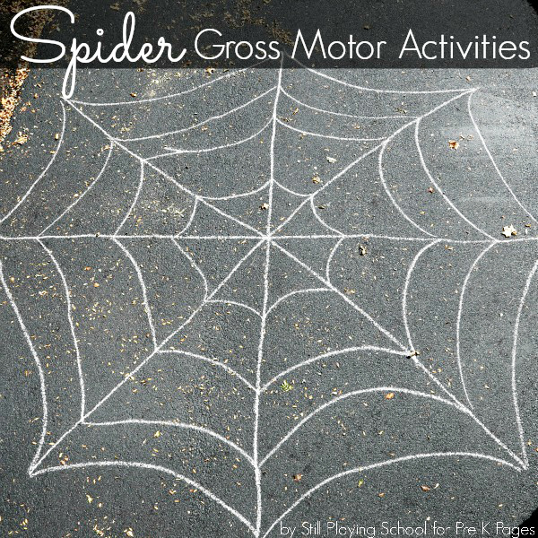 spider gross motor activities