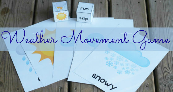 Weather Theme Movement Game