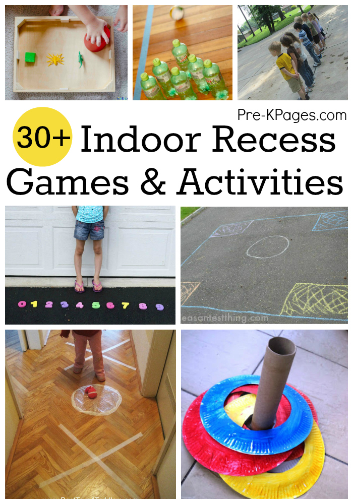 Indoor recess games for preschoolers for Indoor large motor activities for toddlers