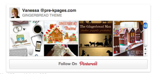 gingerbread pinterest board