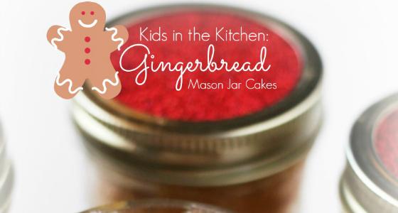 Gingerbread Jar Cakes