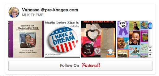 MLK Pinterest Board