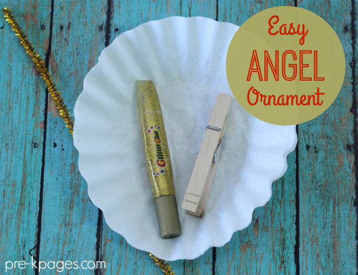 How to Make an Easy Christmas Angel Ornament