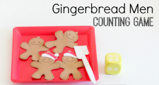 gingerbread men counting