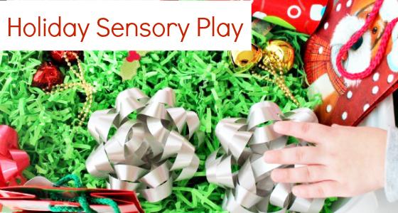 holiday sensory play