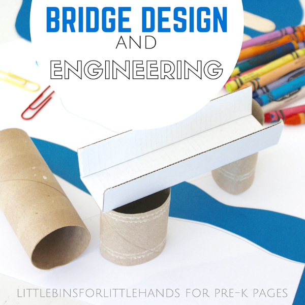 Stem School Kindergarten: Building Bridges Engineering Activity