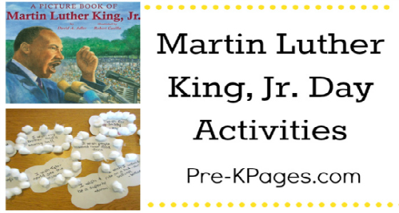 Martin Luther King Jr Day Ideas