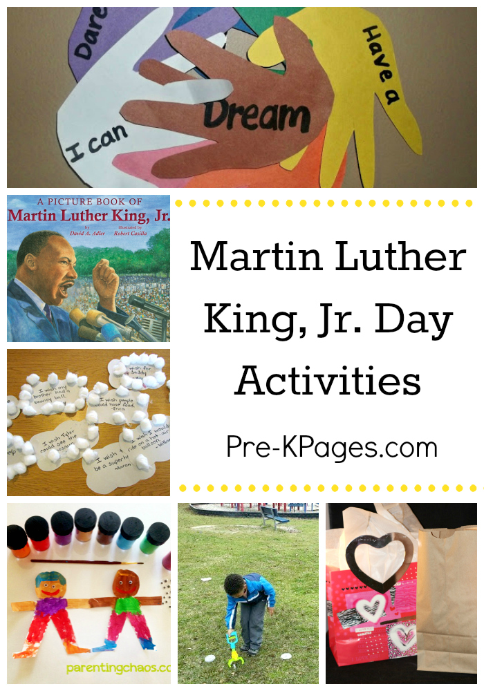 Celebrating Martin Luther King Day (Pre-K Pages)