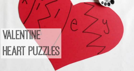 Valentine Heart Puzzles