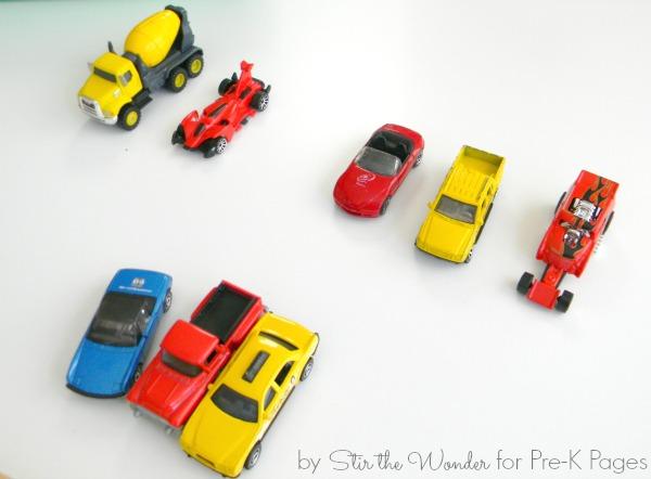 car patterns for preschool