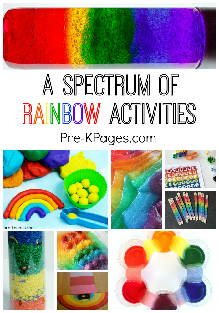 rainbow craft ideas for preschoolers a spectrum of rainbow activities pre k pages 7085