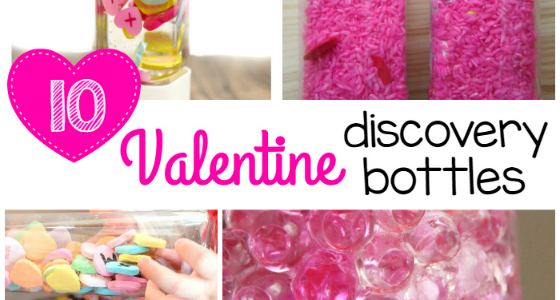10+ Valentine Discovery Bottles