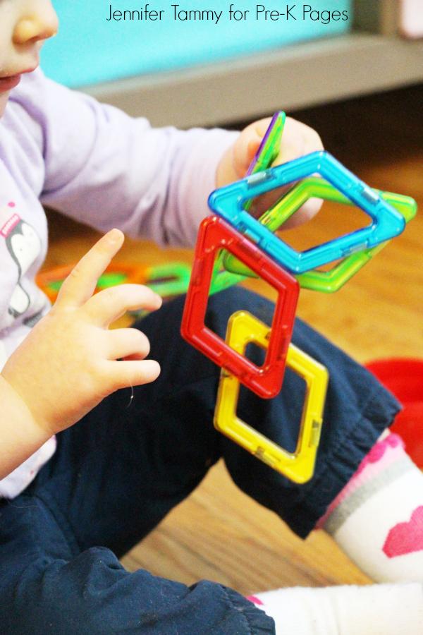construction bin magnetic blocks