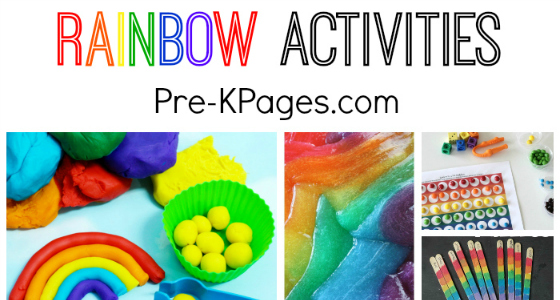 A Spectrum of Rainbow Activities