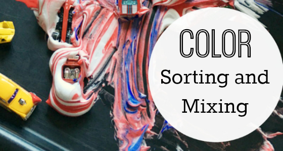 Transportation Color Sorting and Mixing