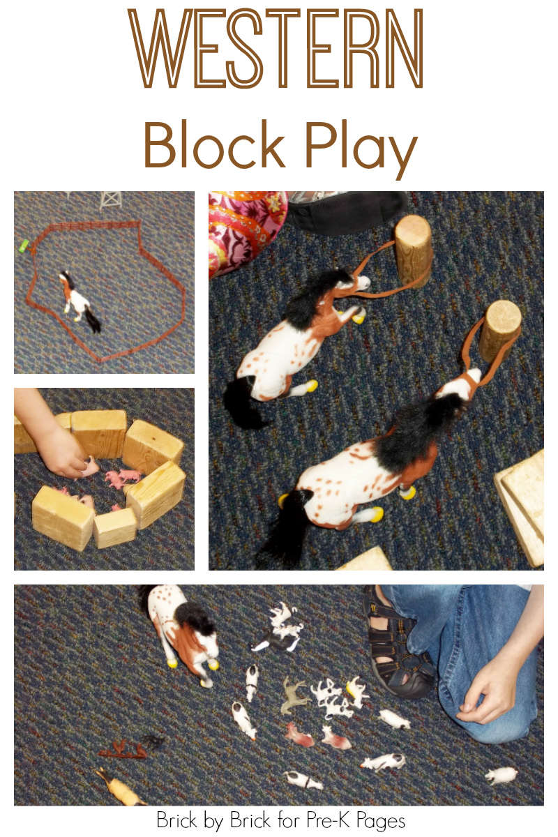 western theme for preschool western block play pre k pages 976