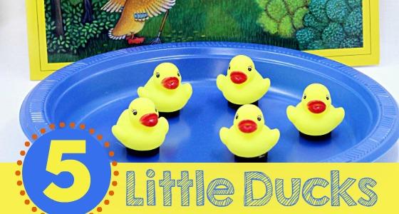 5 Little Ducks Activity