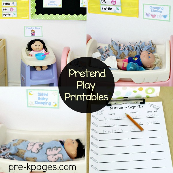 Baby Theme for Dramatic Play Center in Preschool