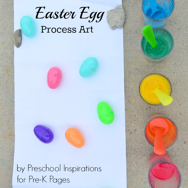 easter egg drip painting art