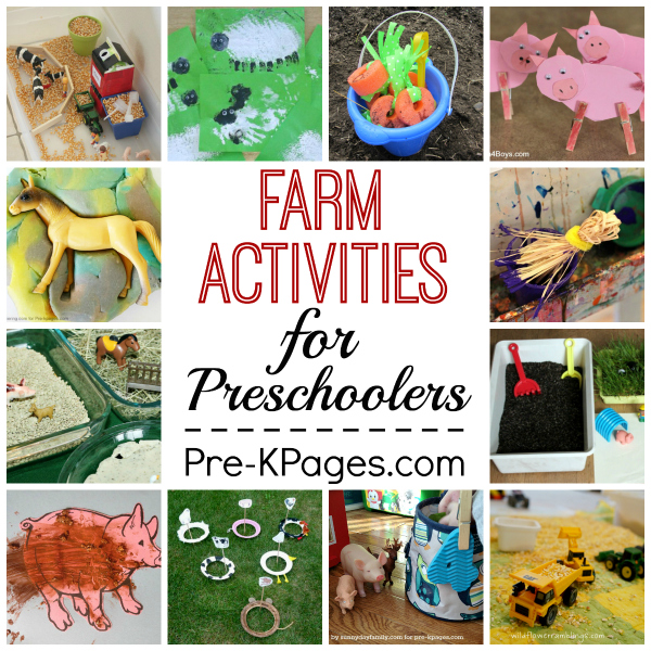 Farm Animal Craft Activities For Toddlers