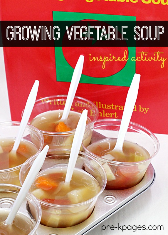 Classroom recipes vegetable soup pre k pages growing vegetable soup activity forumfinder Images