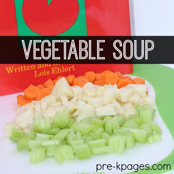 making vegetable soup lesson plan 1