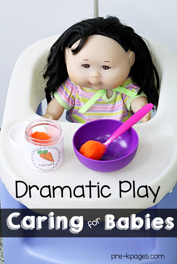 Pretend Play Baby Food
