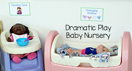 Pretend Play Baby Nursery Theme