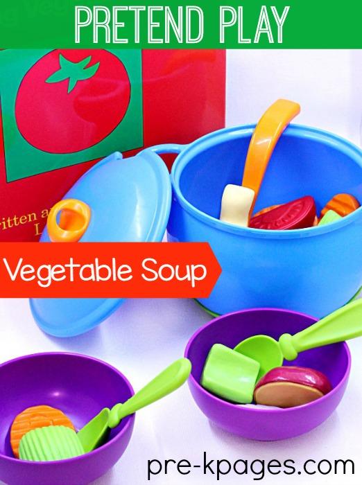 Preschool Classroom Name Ideas ~ Classroom recipes vegetable soup pre k pages