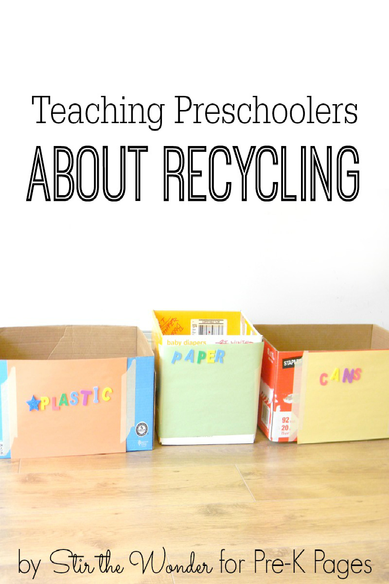 a plan for a school lesson about recycling Lesson plan: paper from paper: a hands-on approach to recycling  school  supplies and even candy bar packaging) use light cardboard in their packaging.