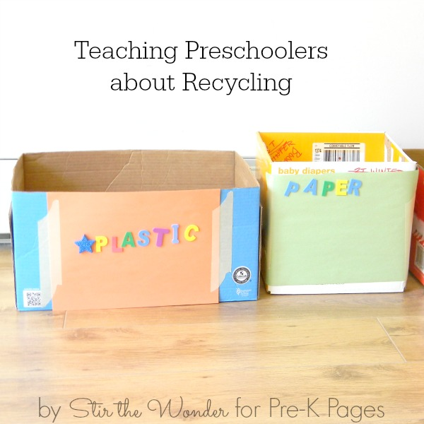 Talking About Recycling with Preschoolers - Pre-K Pages