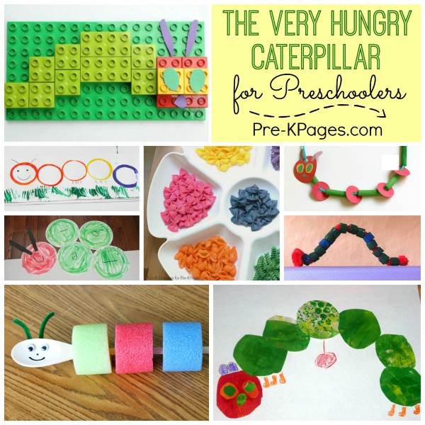 25 Activities for The Very Hungry Caterpillar - Pre-K Pages