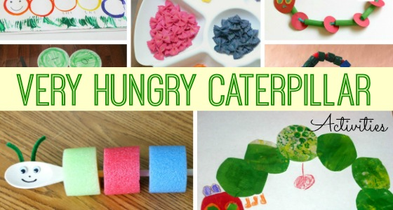 The Very Hungry Caterpillar Ideas for Preschool