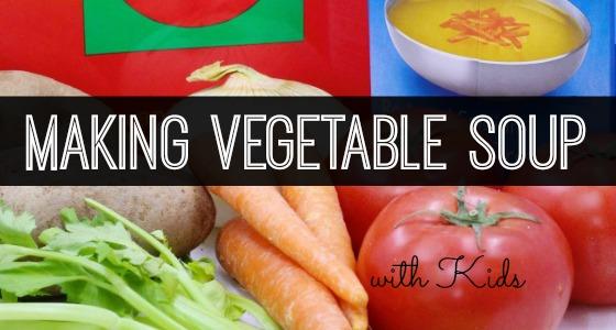 Classroom Recipes: Vegetable Soup