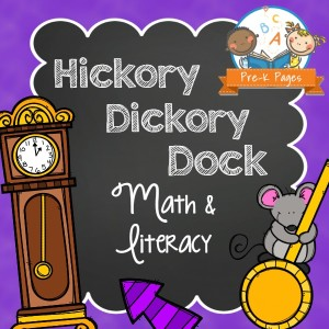 Hickory Dickory Dock Literacy and Math