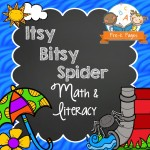 Itsy Bitsy Spider Printable Lessons for Preschoolers