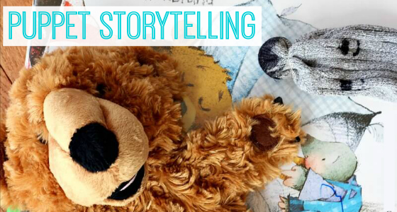 Retelling a Spring Book with Puppets
