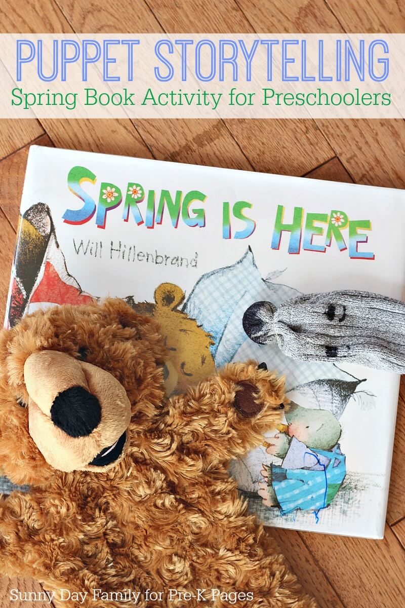puppet storytelling for preschool spring