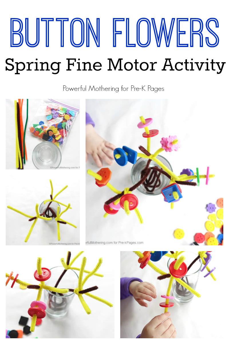 spring fine motor activity for preschool