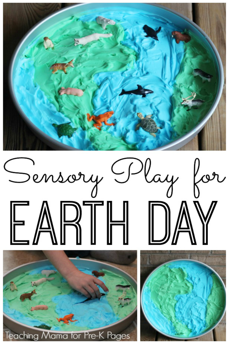 earth for preschoolers sensory play for earth day pre k pages 222