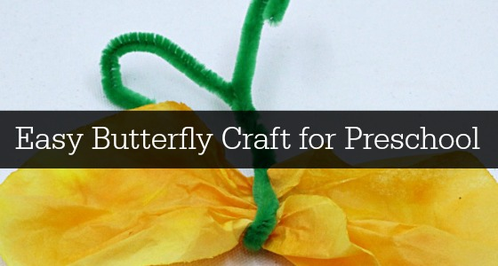 Easy Butterfly Craft Slider