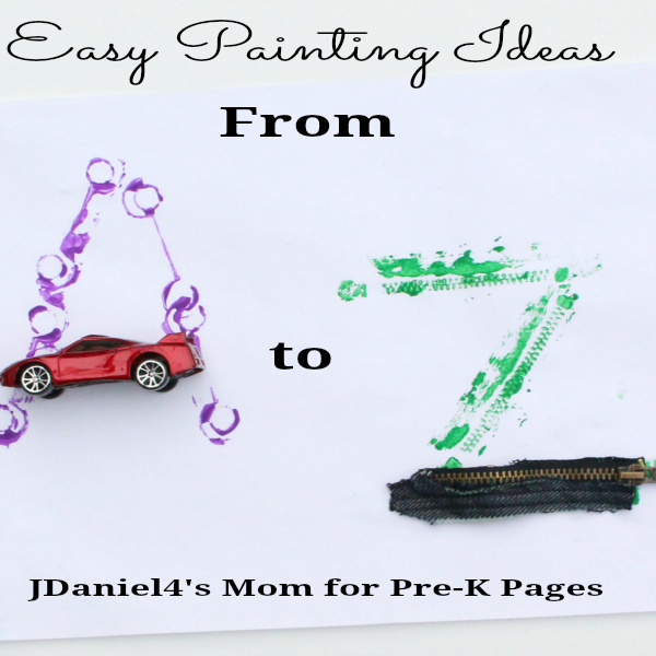 Easy Painting Ideas from A to Z