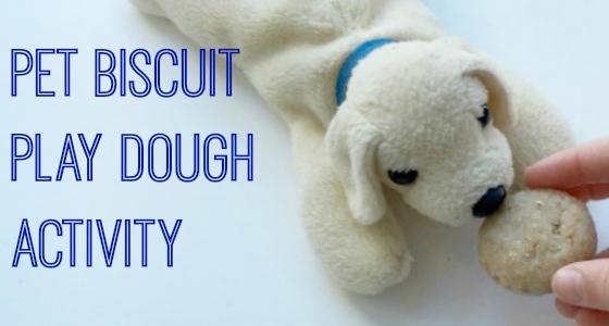 Pet Biscuit Play dough