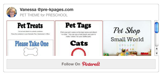 Pet Theme Pinterest Board