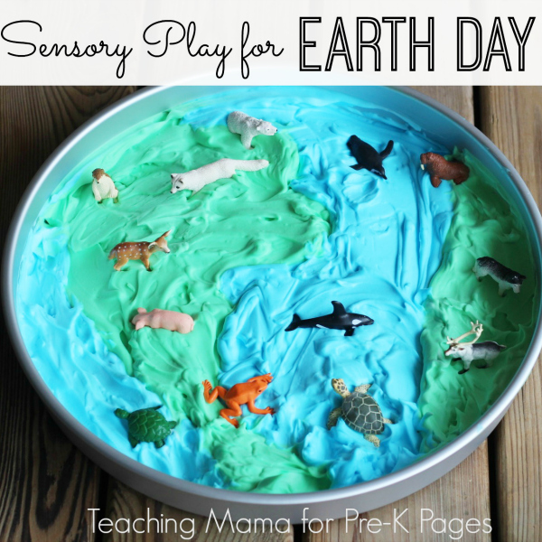 Sensory Play for Earth Day